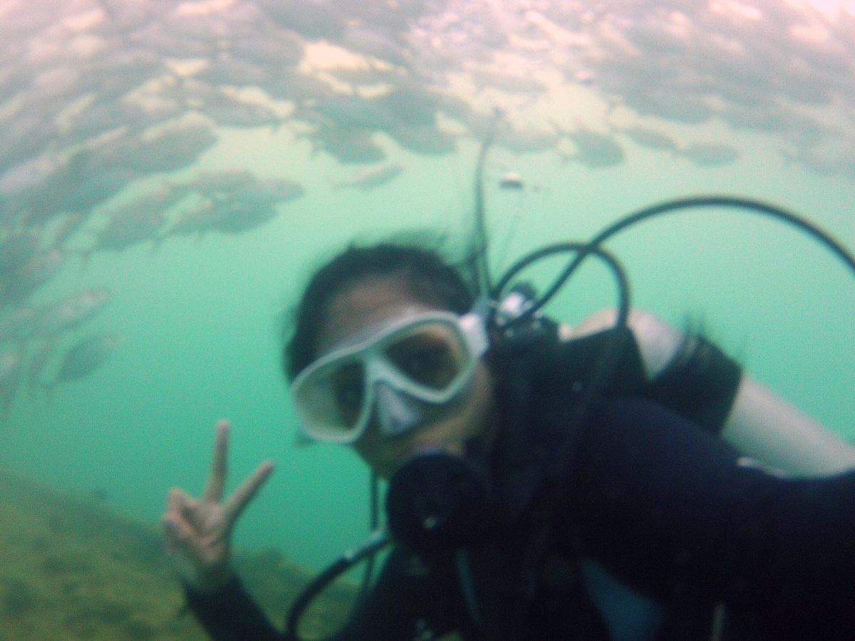 Diving in Subic