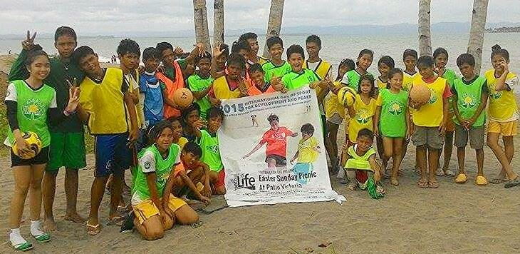 Football for Life children