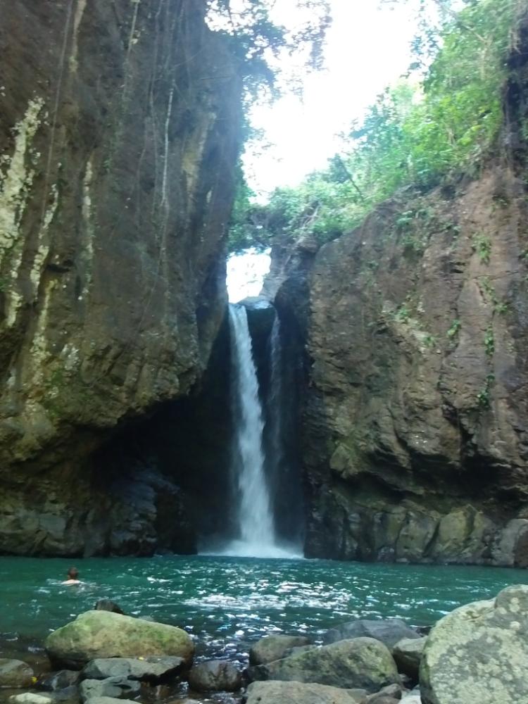 A hidden surprise between the cliffs.