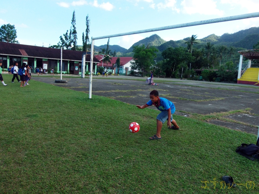 Goal keeping!