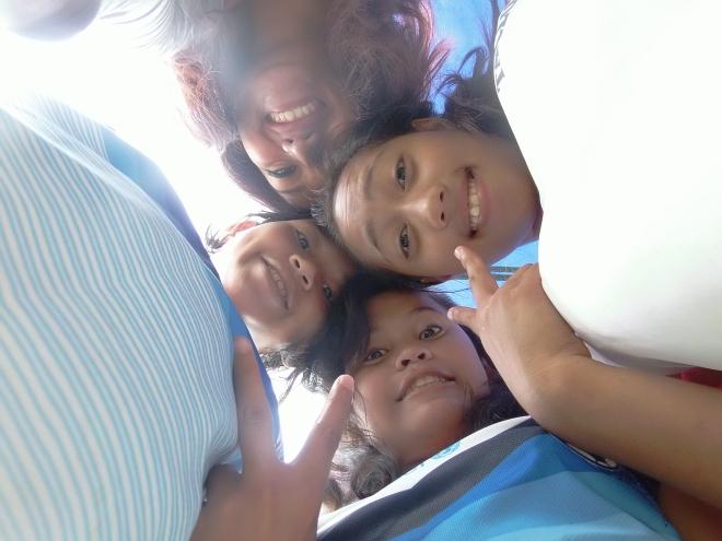 With the Pintadas!