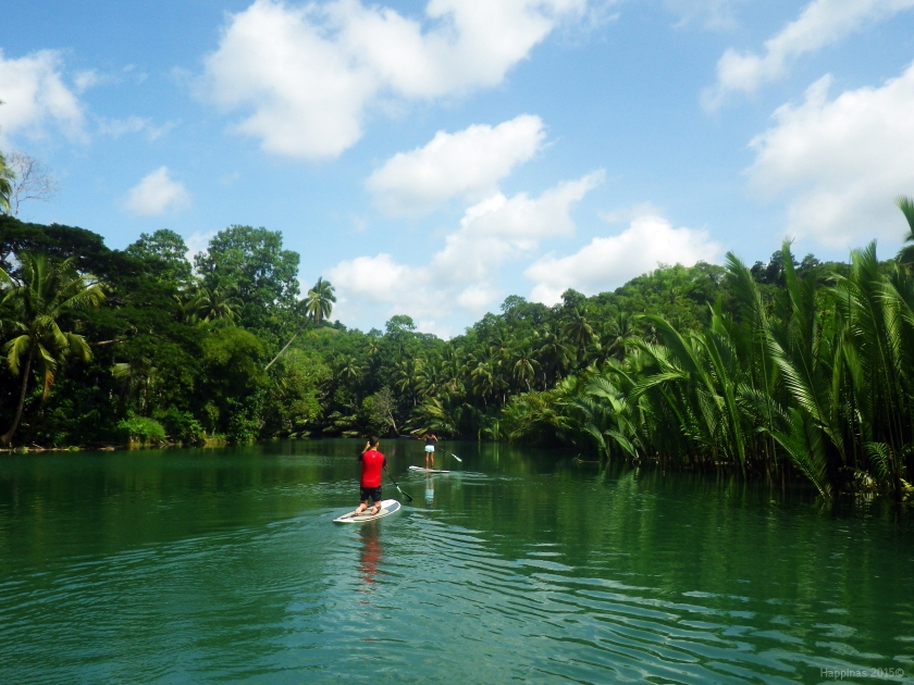 Effortless along Loboc