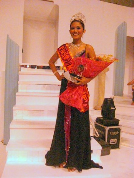 After being crowned Bb. Ormoc First Runner-up 2009