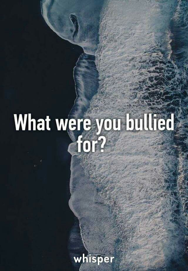 What were you bullied for?