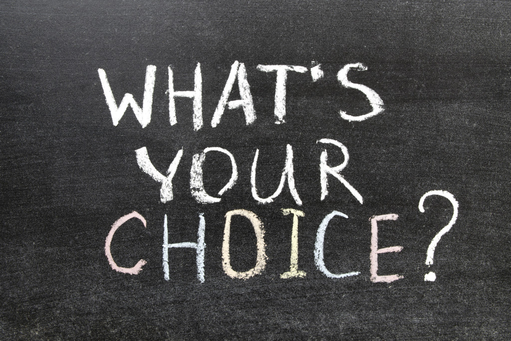 Monday Musings: Choice