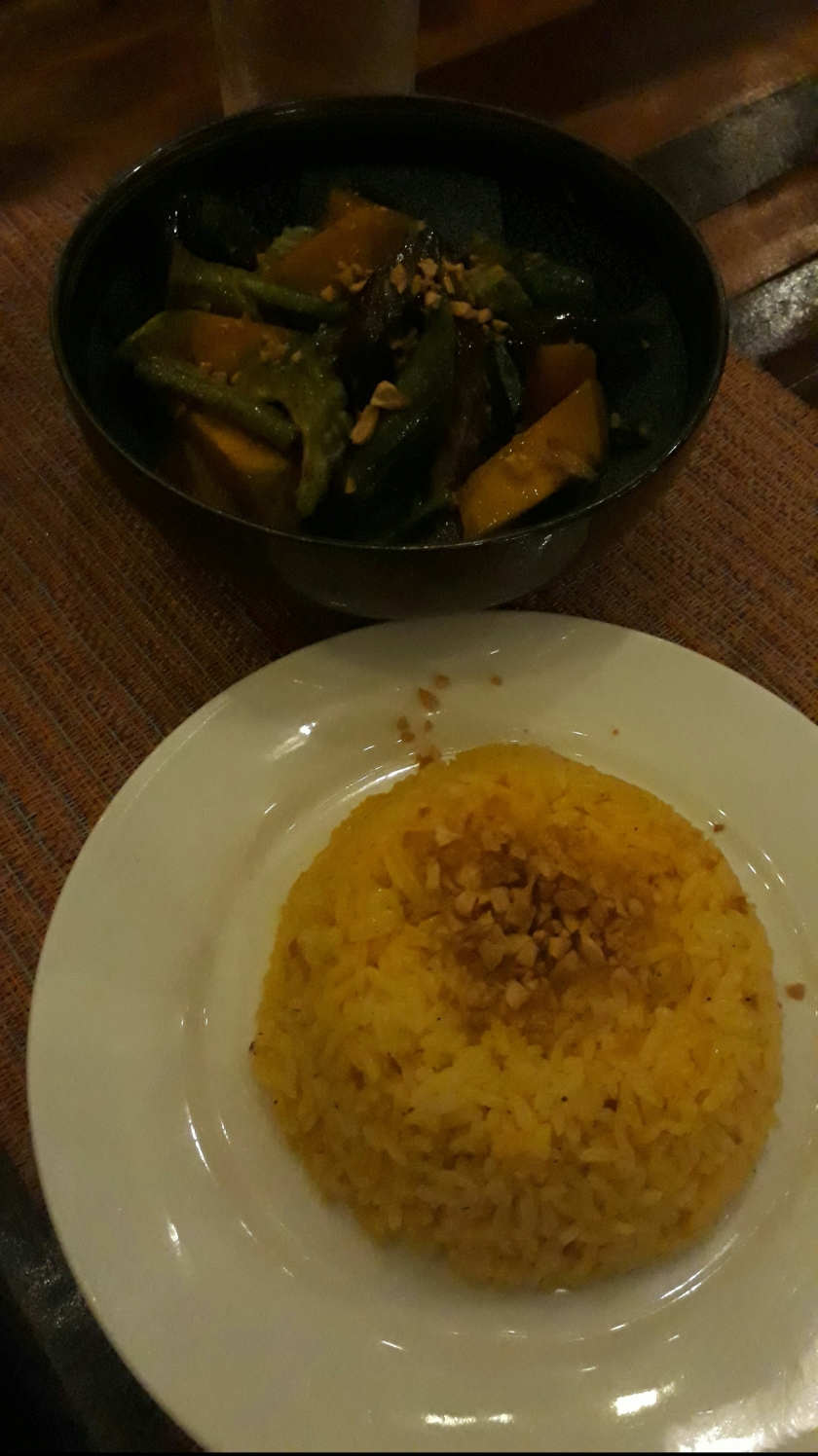 Veggie Kare-kare at Harana Resort