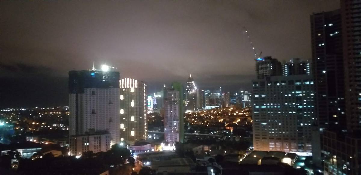 View of Mandaluyong from Flair Tower